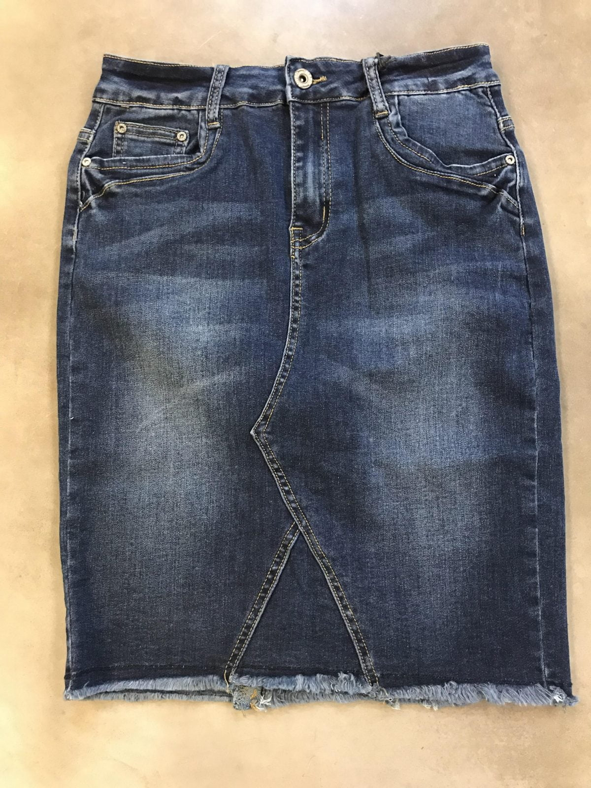 Image of   Toxi Denim Skirt
